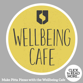 Make Pitta Pizzas with the Wellbeing Cafe